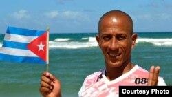 Francisco Luis Manzanet, activista cubano (Foto de su página de Facebook)