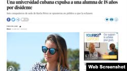 """El caso de Karla María ha llegado a reconocidos medios internacionales como el diario español """"El País""""."""