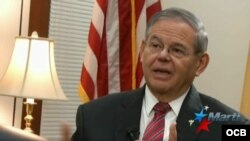 El senador demócrata de New Jersey, Bob Menendez.