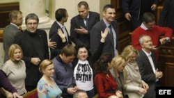 Parlamento de Crimea, hoy sábado 15 de marzo de 2014