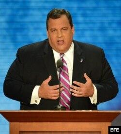 Foto de archivo del gobernador de Nueva Jersey, Chris Christie.