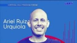 Opositor cubano habla ante el Foro de Oslo para denunciar degradación ambiental en Cuba