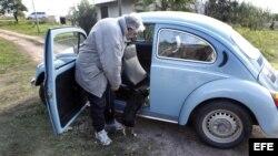 Un millón de dólares por el VW Escarabajo 87 de José Mujica.