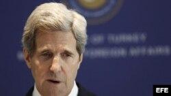 El secretario estadounidense de Estado, John Kerry.