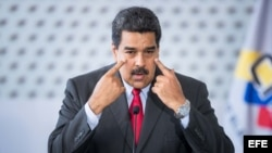 El presidente en disputa de Venezuela, Nicolás Maduro.
