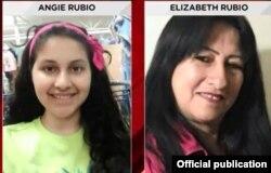 Desaparecidas: Elizabeth Rodríguez Rubio y su nieta Angie Caroline habrían sido secuestradas por el ex policía cubano Hareton Jaime Rodríguez Sariol, arrestado en relación con el caso.