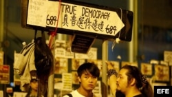 Hong Kong Occupy Central.