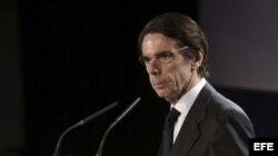 El ex presidente del Gobierno José María Aznar. Archivo.
