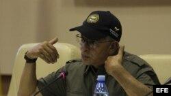 Guerrilleros de las FARC en el Palacio de las Convenciones