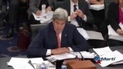 Duras críticas para Kerry por política de Casa Blanca hacia Cuba
