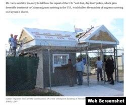 Parte del trabajo que hacen cubanos en Islas Caimán (CaymanCompass.com -Detalle).