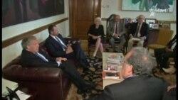 Luis Almagro recibe a dirigentes de la Resistencia Cubana