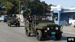 Foto archivo: Soldados de las Tropas Especiales cubanas