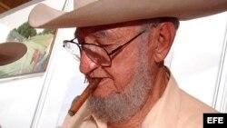 ARCHIVO: Ramón Castro, hermano de Fidel Castro en la inauguración de la XXI Feria Internacional de La Habana.