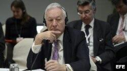 El ministro español de Asuntos Exteriores, José Manuel García Margallo.