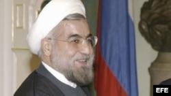 El presidente electo, Hassan Rohani.