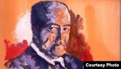 Retrato de Gastón Baquero.