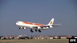 Un avión de Iberia. Archivo.