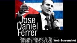 Imagen de la campaña por la liberación de José Daniel Ferrer.