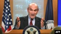 El enviado especial del Departamento de Estado para Venezuela, Elliott Abrams.