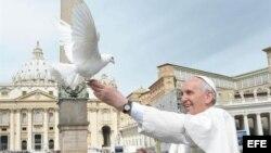 Fotografía de archivo del papa Francisco.