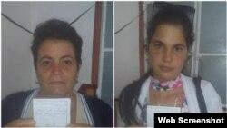 De izq. a der. Ania Zamora y Sissi Abascal.