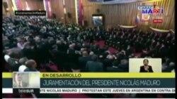 Nicolás Maduro juró para un período de 6 años como gobernante ilegítimo de Venezuela
