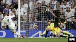 Tercer gol de Cristiano Ronaldo frente al Atlético de Madrid.
