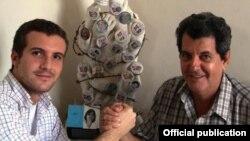 En esta foto de archivo Pablo Casado junto a Oswaldo Payá (1952-2012). Tomado de oswaldopaya.org