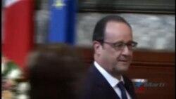 El Presidente de Francia, Francois Hollande llega a Cuba en visita oficial