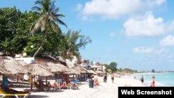 Playa Varadero. Cuba