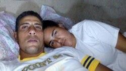 Activista exige información sobre su esposo arrestado
