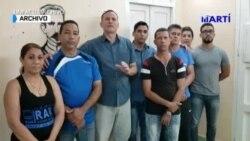 Miembros de la UNPACU firmes en la lucha por sus compatriotas