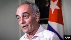 El embajador europeo en Cuba, el español Alberto Navarro.