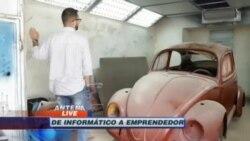 """Un taller para VW Beetle en el corazón de """"La Timba"""", en La Habana"""