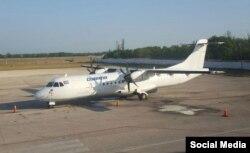 Este ATR-72 y otro similar arrendados a Cubana por la empresa sudafricana Solenta Aviation son dos de los cinco aviones operativos que le quedarían a la aerolínea estatal de Cuba