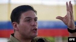 Foto de archivo del ministro de Defensa de Colombia, Juan Carlos Pinzón.