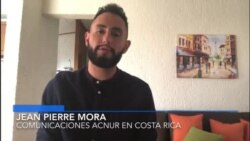 Jean Pierre Mora, encargado de comunicaciones de ACNUR en Costa Rica
