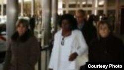 Se reúne Berta Soler con exiliados y expresos políticos en Madrid