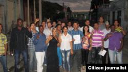 Reporta Cuba. Asistentes al Diálogo Nacional. Foto: @luislazaroguanch.