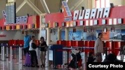 La Terminal 1 del Aeropuerto José Martí de La Habana, por donde entran y salen los vuelos nacionales.