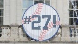 Los Yankees son los Yankees, 27 juegos consecutivos con bambinazos y existe la posibilidad de 28 HR's consecutivos hoy día!