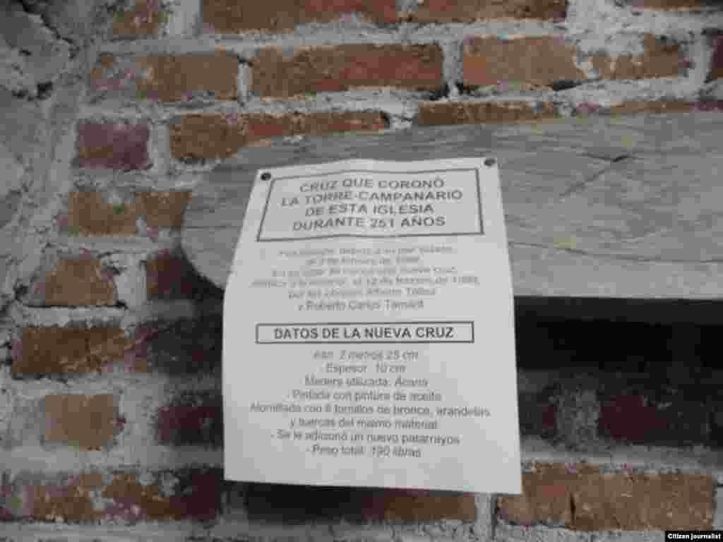 Reporta Cuba Catacumbas iglesia Las Mercedes Camaguey Foto Daneybis de la Celda