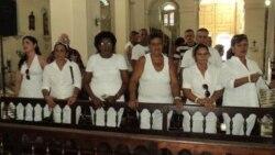 Acto de repudio a Damas de Blanco en Matanzas