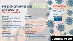 COVID-19 y libertad de expresión.