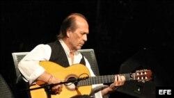 El guitarrista español, Paco de Lucía en foto de archivo