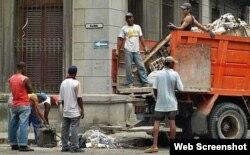 Cienfuegos/ recogida de basura