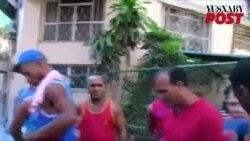 Protesta de bicitaxistas en La Habana (10 de mayo de 2016)