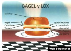 Un bagel, lo que extrañaba Gross en su prisión en Cuba.