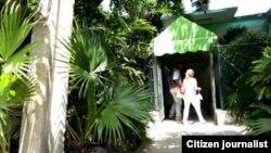 Reporta Cuba. Entregas en oficinas del Gobierno.